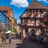 フランスで最も美しい村!リクヴィルの美しい街並みを写真で紹介!